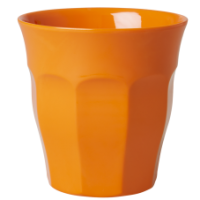 Orange Melamine Cup - by Rice DK