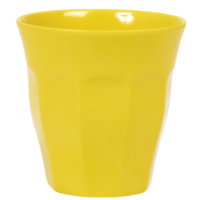 Yellow Melamine Cup - by Rice DK