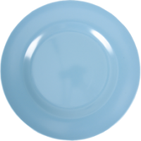 Turquoise Melamine Dinner Plate by Rice DK
