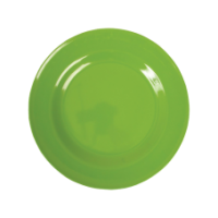 Apple Green melamine side plate or kids plate by Rice DK