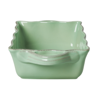 Medium Stoneware Oven Dish in Pastel Green by Rice DK