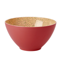 Melamine Salad Bowl in Dark Coral by Rice DK