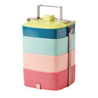 Melamine Stacking Lunch Box Shine Colours Rice DK