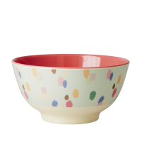 Rice DK Colourful Dapper Dot Melamine Bowl