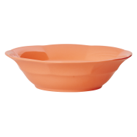 Pastel Neon Coral Melamine Bowl by Rice DK