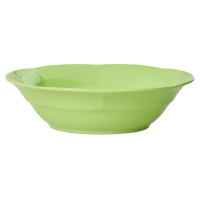 Pastel Neon Green Melamine Bowl by Rice DK