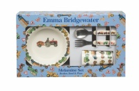 Emma Bridgewater Men At Work Melamine Kids Dinner Set