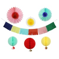 Meri Meri Multi Coloured Decorating Kit