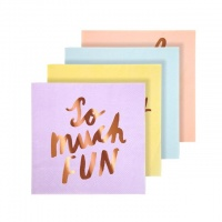 Fun Party Small Paper Napkins By Meri Meri