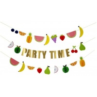 Fruit Honeycomb Party Time Garland By Meri Meri