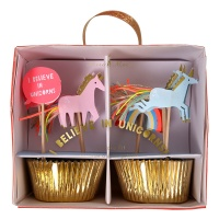 I Believe In Unicorns Cupcake Kit By Meri Meri