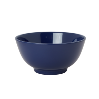 Midnight Blue Melamine Bowl Rice DK