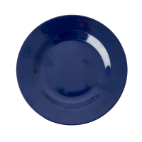Midnight Blue Melamine Side Plate or Kids Plate Rice DK