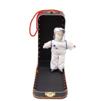 Mini Astronaut Doll with Suitcase By Meri Meri