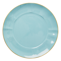 Porcelain Dinner Plate In Mint By Rice DK
