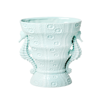 Mint Coloured Seahorse Vase By Rice DK