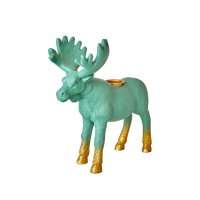 Moose Shaped Resin Candle Holder By Rice DK