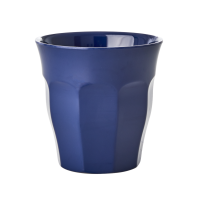 Navy Blue Melamine Cup By Rice DK