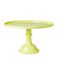 Neon Yellow Large Melamine Cake Stand By Rice DK