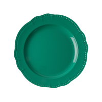 New Look Dark Green Melamine Dinner Plate By Rice DK