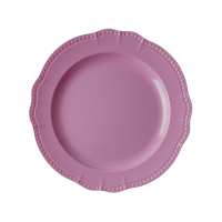 New Look Dark Pink  Melamine Dinner Plate By Rice DK