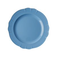 New Look Sky Blue Melamine Dinner Plate By Rice DK
