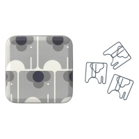 Elephant Shaped Paperclip Ela Elephant Design By Orla Kiely