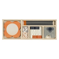 Wooden Office Stationery Set By Orla KIely