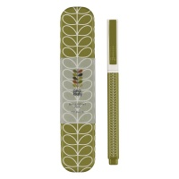 Linear Seagrass Stem Print Ballpoint Pen & Tin By Orla Kiely