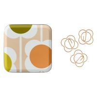 Abacus Flower Shaped Paperclip By Orla Kiely