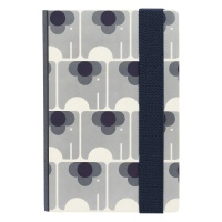 Orla Kiely A5 Hardback Notebook With Ela Elephant Print