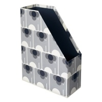 Magazine Box File Ela Elephant Print By Orla Kiely
