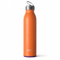 Orange and Purple Coloured 20oz Water Bottle By SWIG