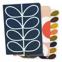 Set of 3 Orla Kiely Notebooks