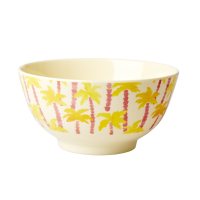 Palm Tree Print Melamine Bowl By Rice DK