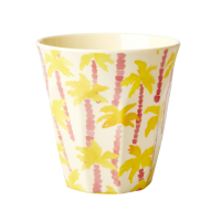 Palm Tree Print Melamine Cup By Rice DK