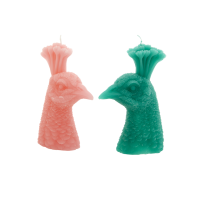 Peacock Shaped Candles By Rice DK