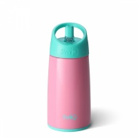 Kids Peony Pink Stainless Steel Water Bottle By Swig