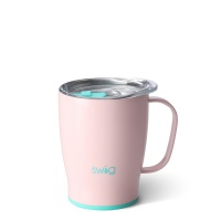 Pink Blush Coloured 18oz Mug By SWIG