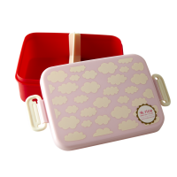 Pink Cloud Print Lunchbox By Rice DK