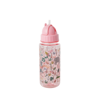 Jungle Pink Print Water Bottle By Rice DK