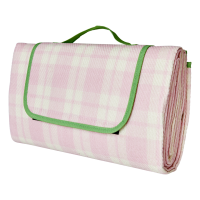 Picnic Blanket in Pink & Cream By Rice DK