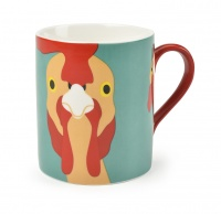 ''Plucky'' Chicken China Mug By Burgon & Ball