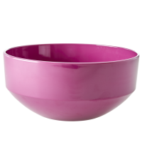 Light Plum Large Melamine Bowl By Rice DK