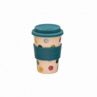 Polka Dot Rice Husk Travel Cup Emma Bridgewater