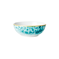 Porcelain Breakfast Bowl Glaze Print In Jade By Rice DK