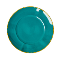 Porcelain Lunch or Cake Plate in Jade By Rice DK
