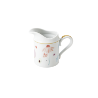 Porcelain Milk Jug Floral and Fruit Print By Rice DK