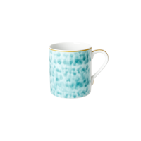 Porcelain Mug With Glaze Print in Jade By Rice DK