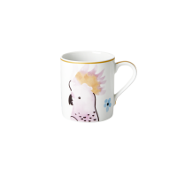 Porcelain Mug With Cockatoo Print By Rice DK